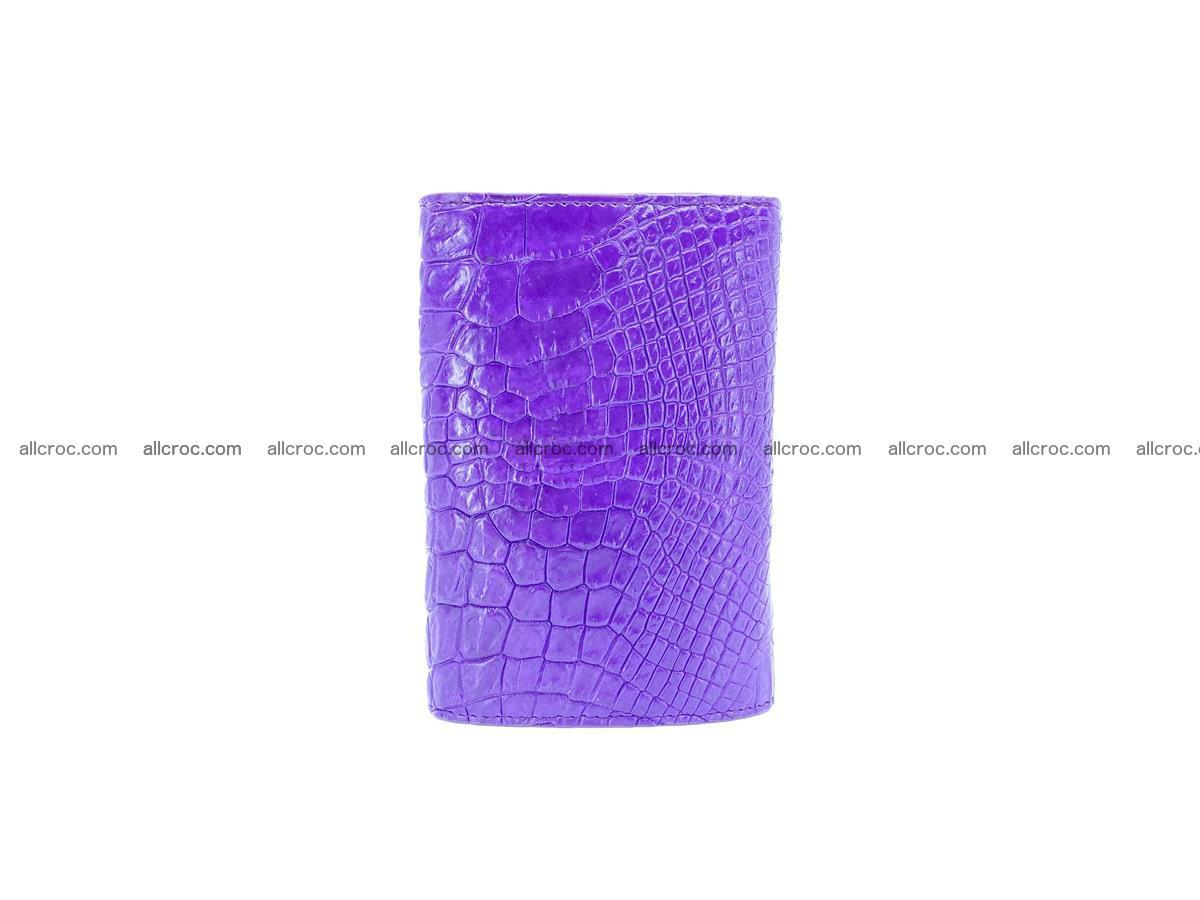 Women's crocodile skin wallet 1034 Foto 3