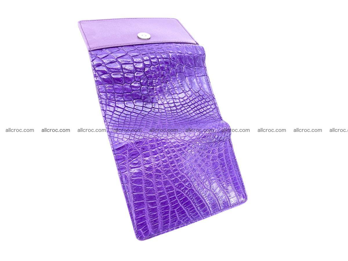 Women's crocodile skin wallet 1034 Foto 7