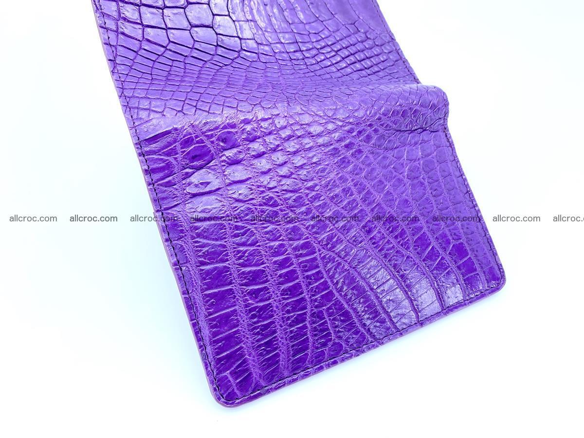Women's crocodile skin wallet 1034 Foto 8