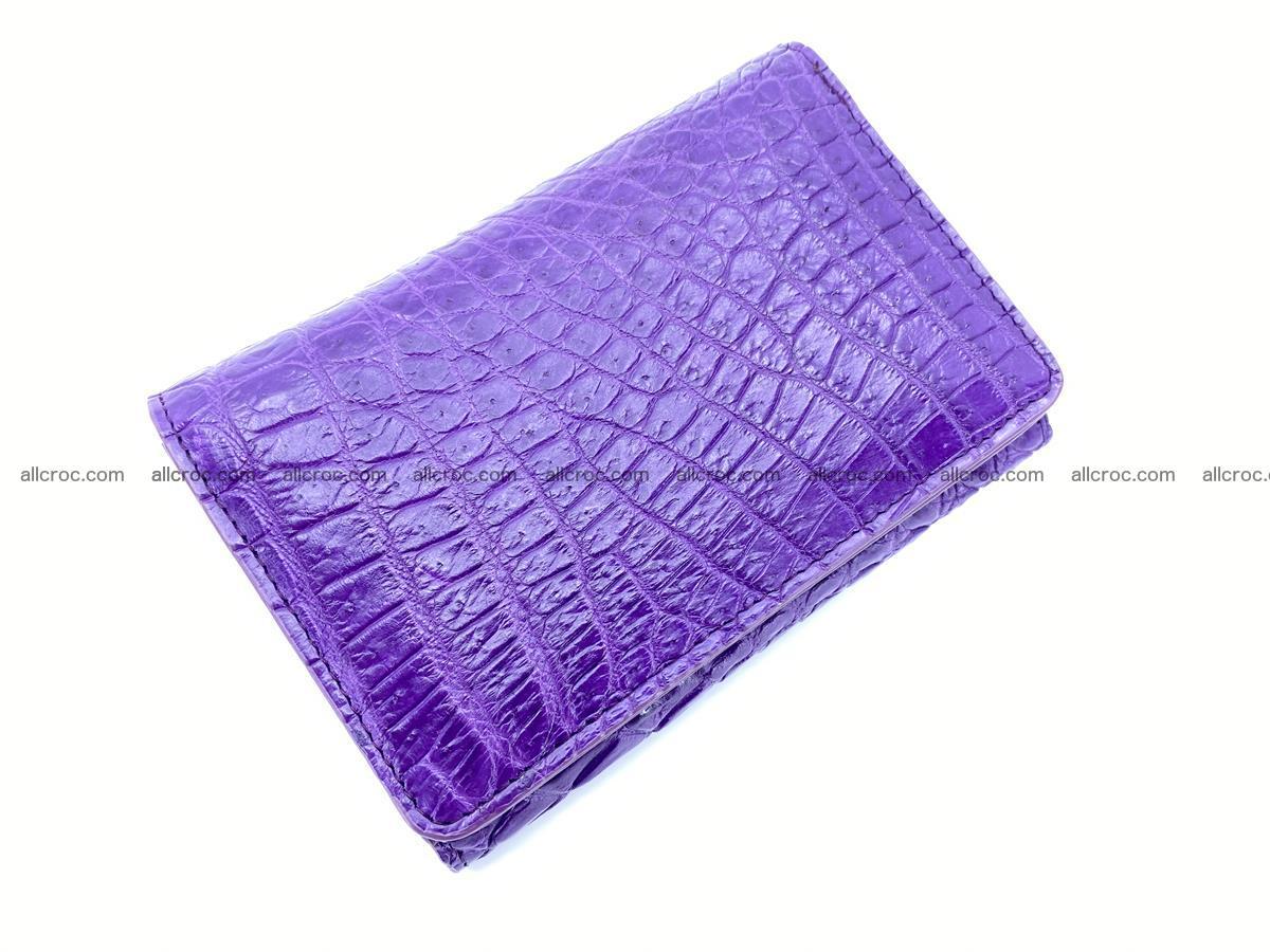 Women's crocodile skin wallet 1034 Foto 4