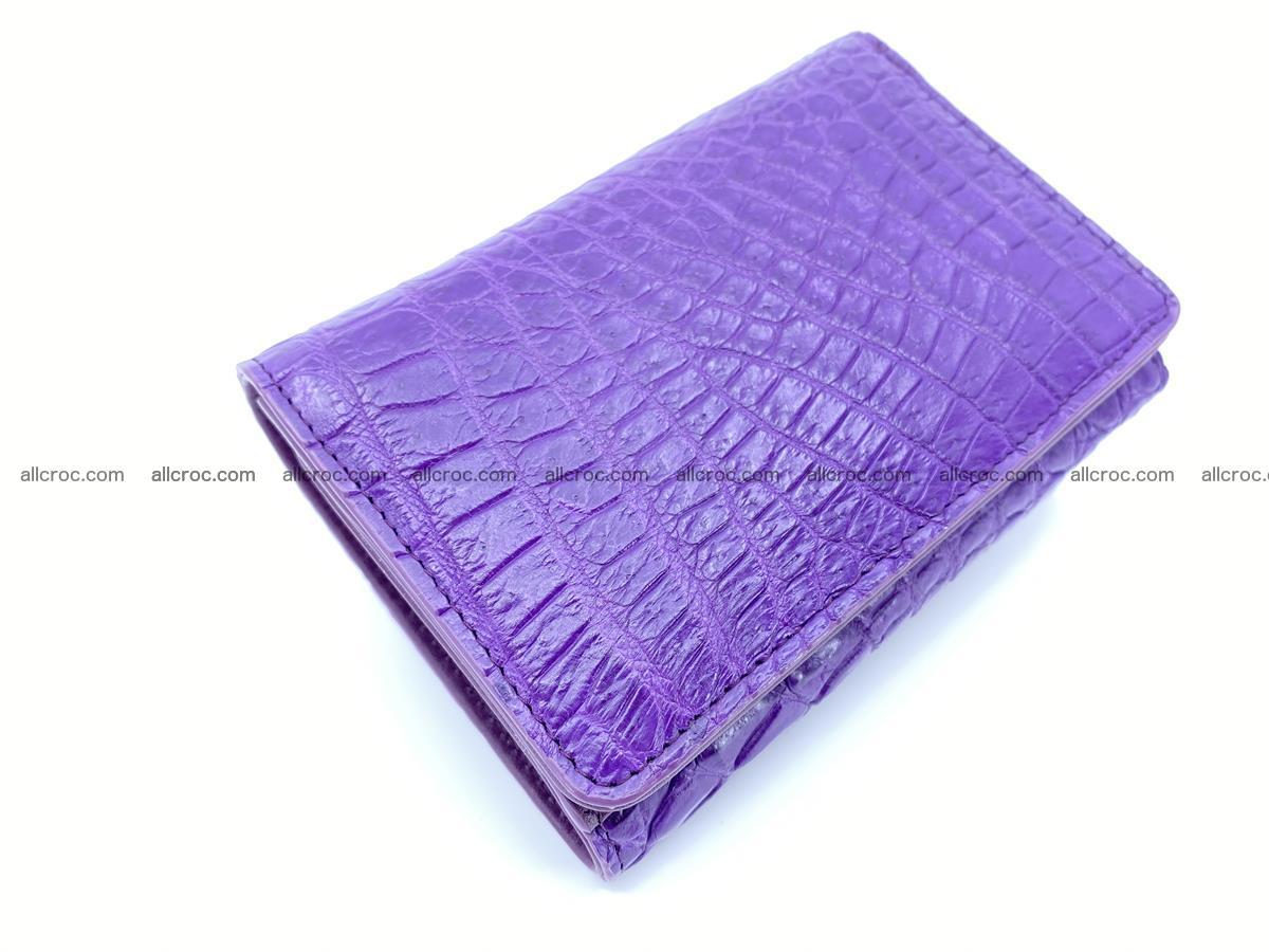 Women's crocodile skin wallet 1034 Foto 5