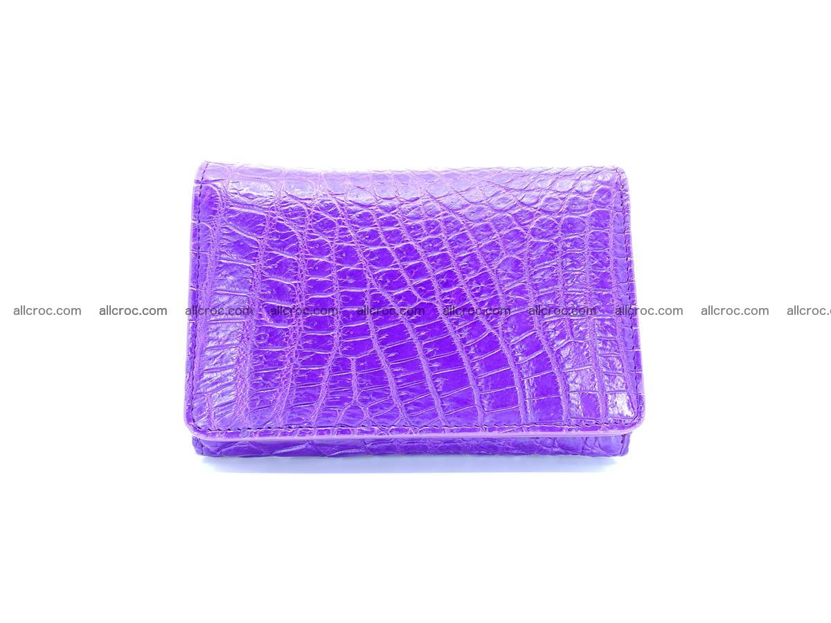Women's crocodile skin wallet 1034 Foto 0