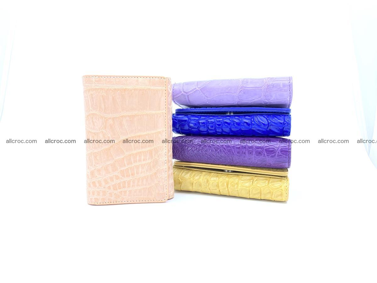 Women's crocodile skin wallet 1031 Foto 13