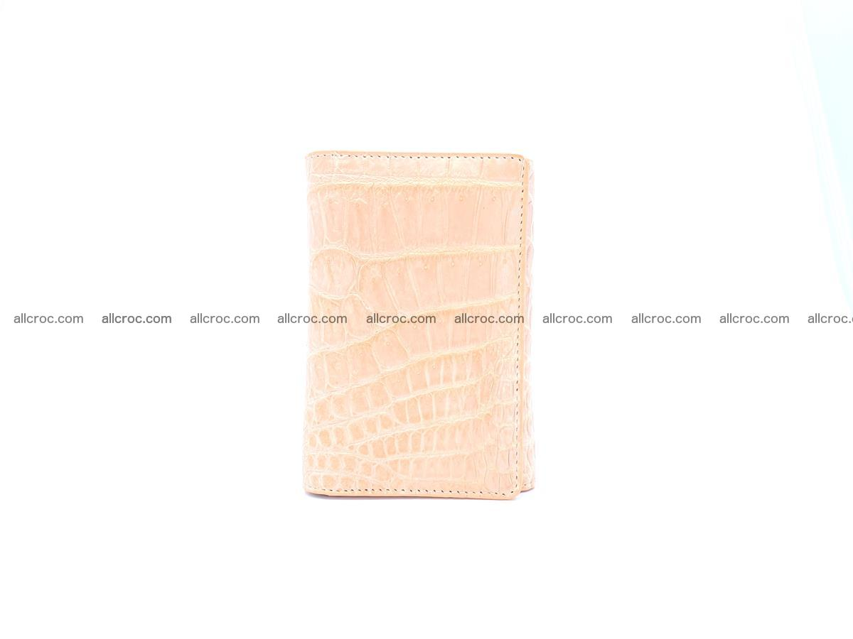 Women's crocodile skin wallet 1031 Foto 2
