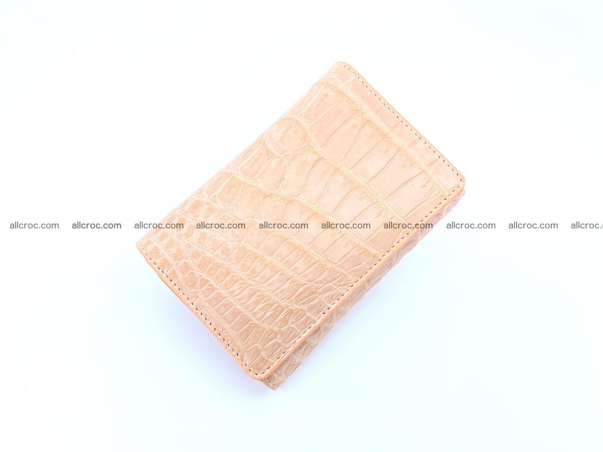 Women's crocodile skin wallet 1031 Foto 4