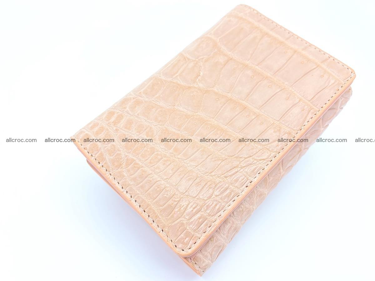 Women's crocodile skin wallet 1031 Foto 5