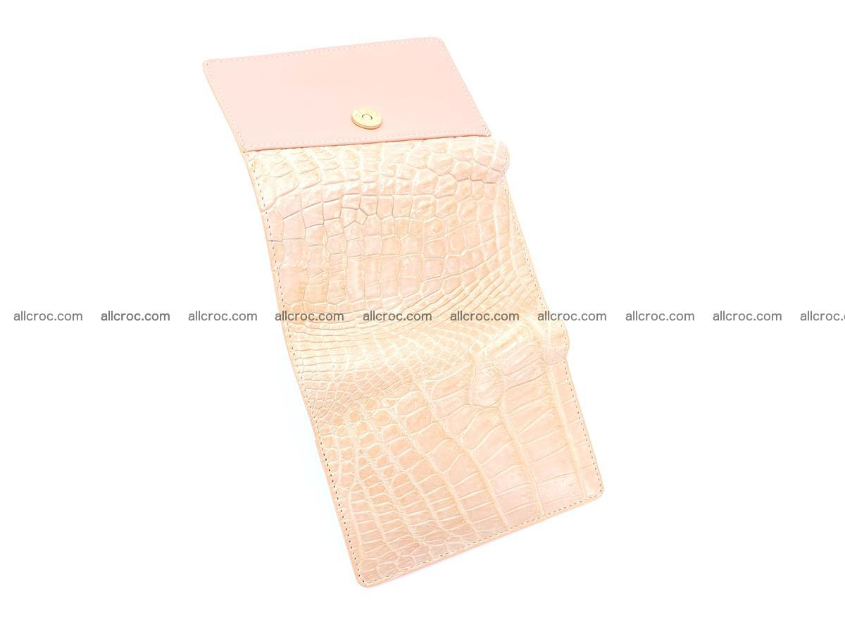 Women's crocodile skin wallet 1031 Foto 8