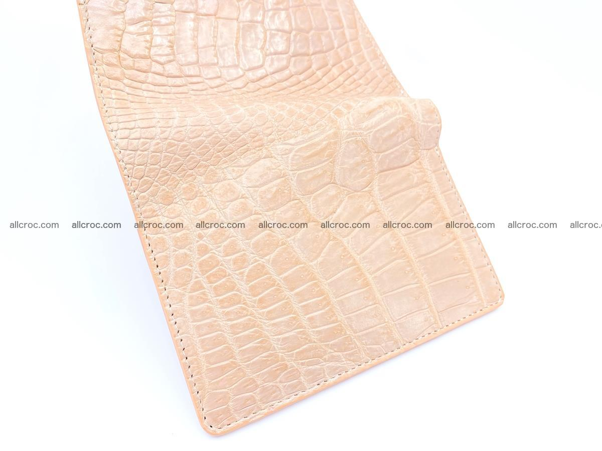 Women's crocodile skin wallet 1031 Foto 9