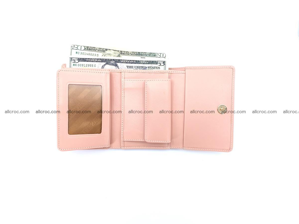 Women's crocodile skin wallet 1031 Foto 12