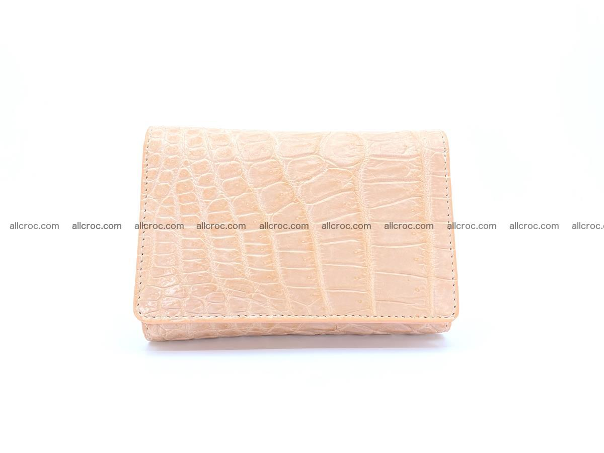 Women's crocodile skin wallet 1031 Foto 0
