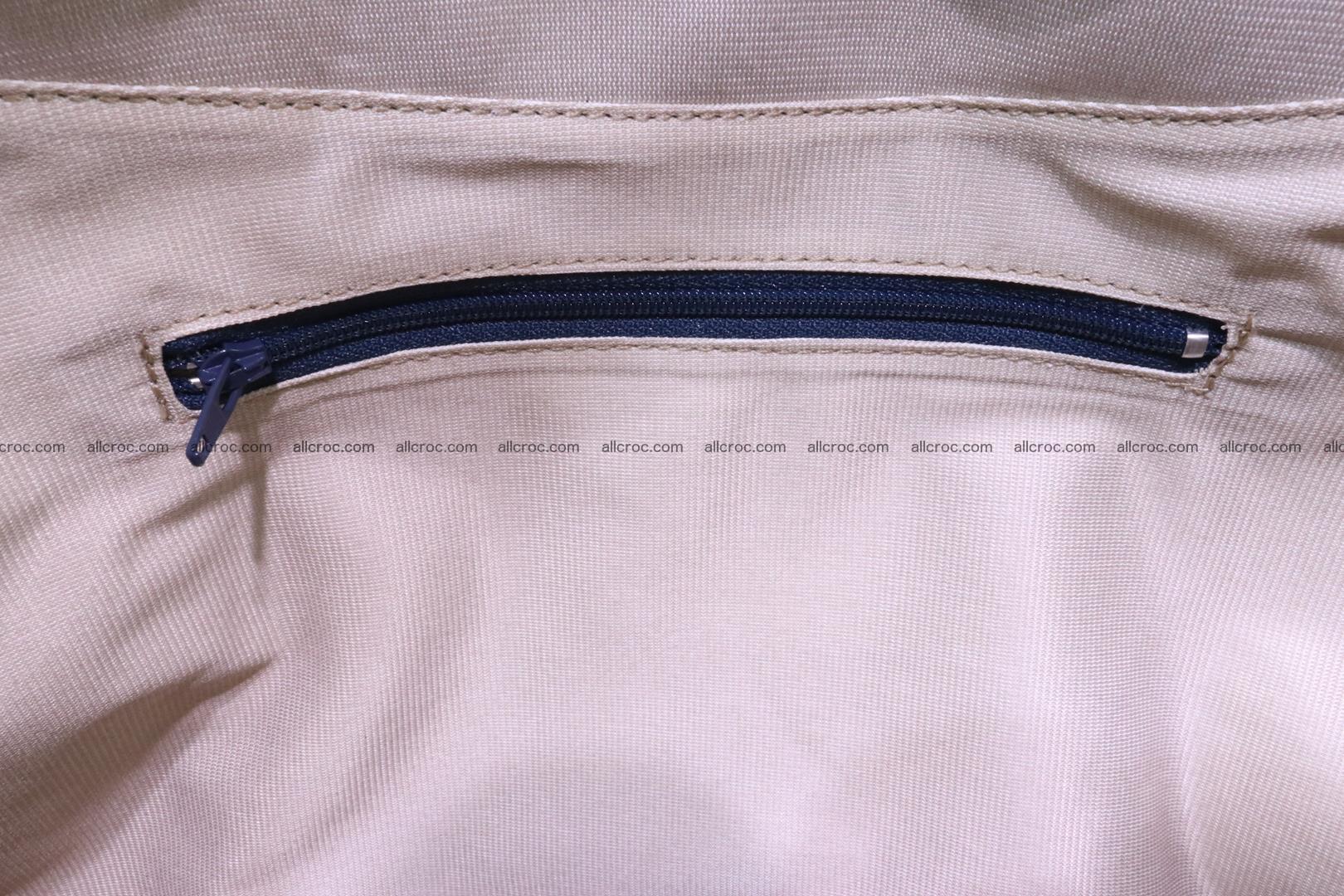 Cobra skin ladies handbag with head of cobra 194 Foto 15