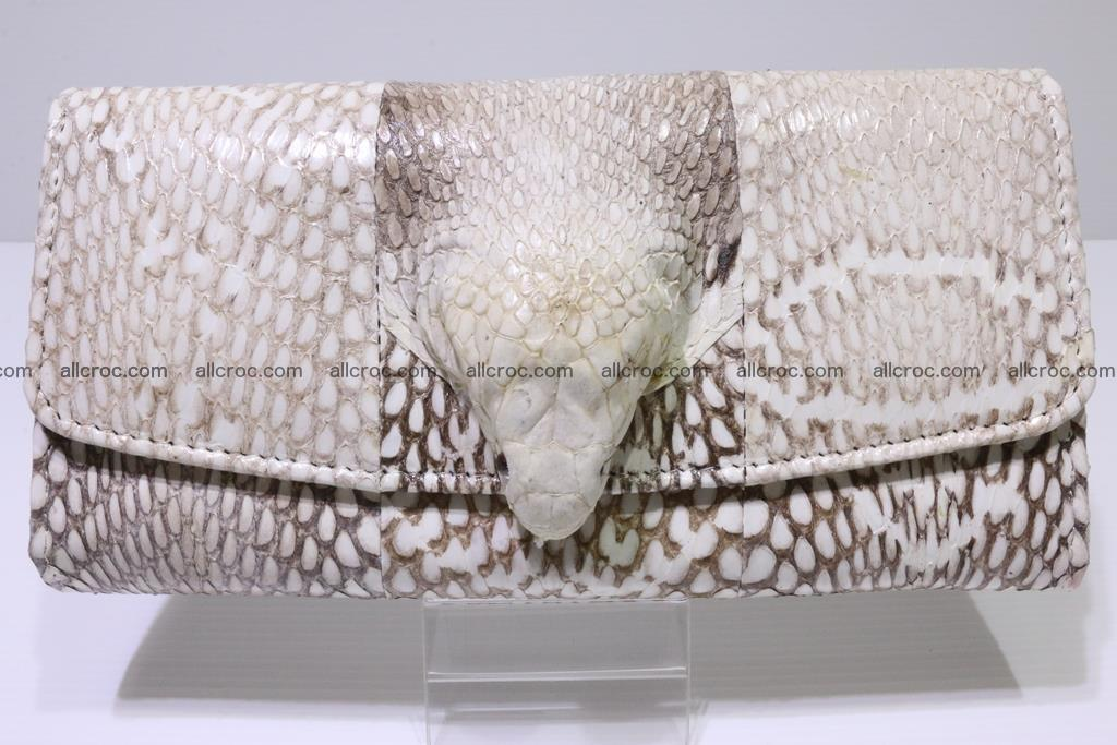 Cobra skin wallet for lady 359 Foto 8