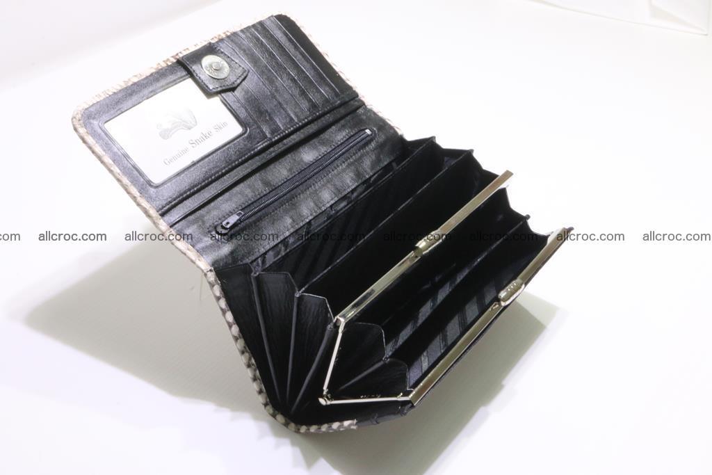 Cobra skin wallet for lady 359 Foto 13