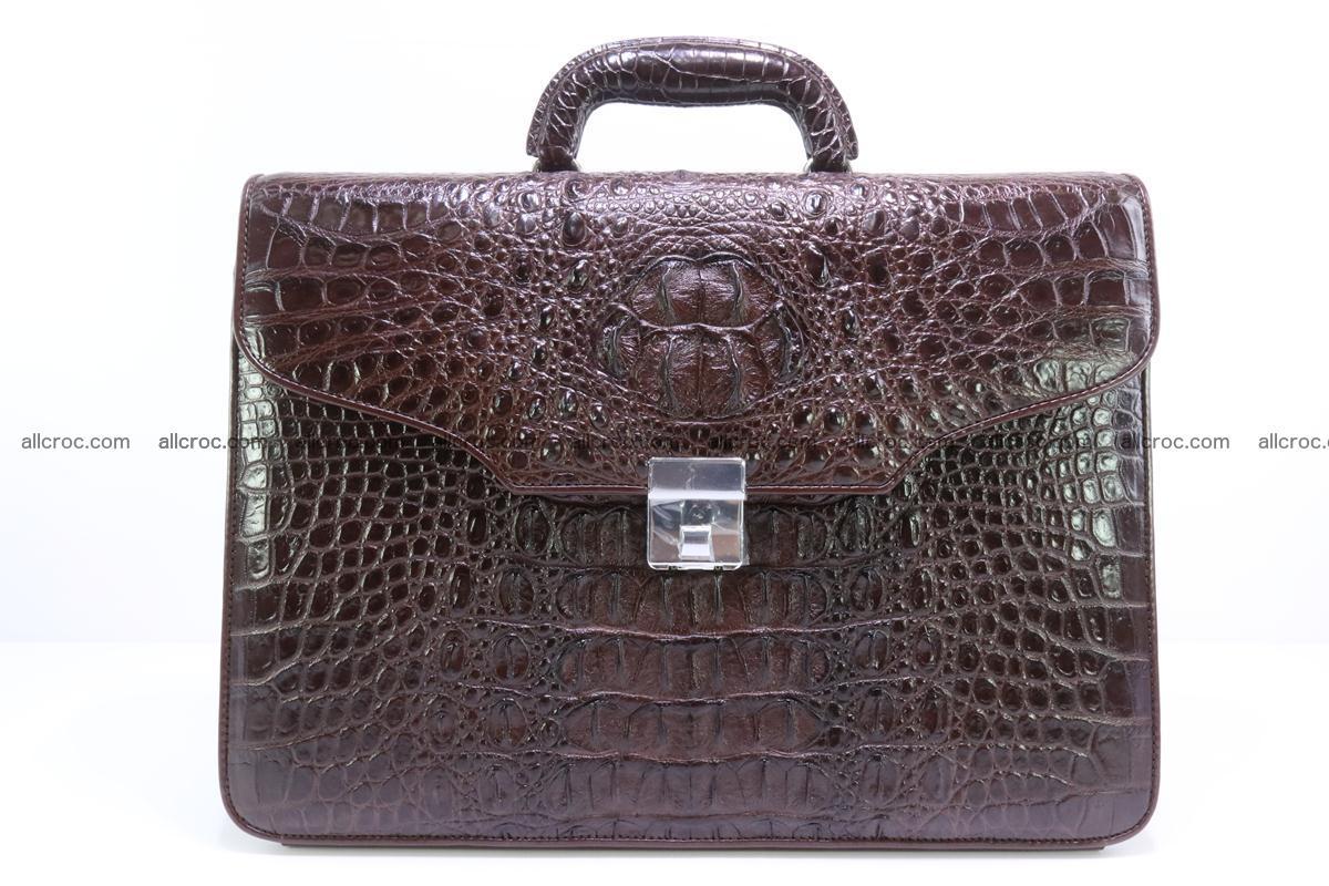 Crocodile skin briefcase 293 Foto 0