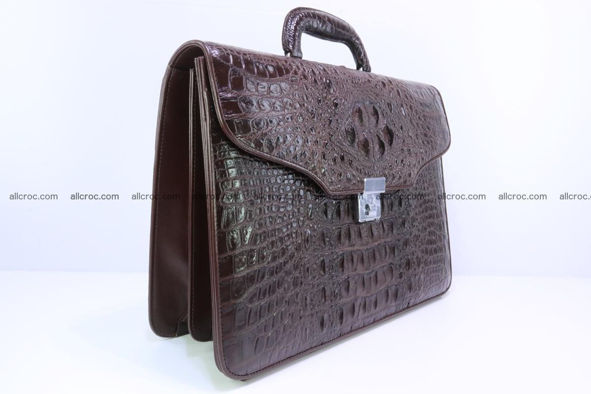 Crocodile skin briefcase 293 Foto 1