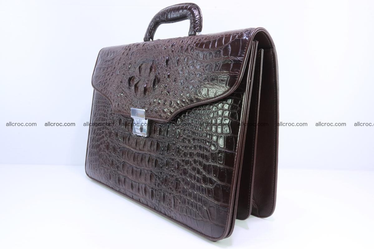 Crocodile skin briefcase 293 Foto 2