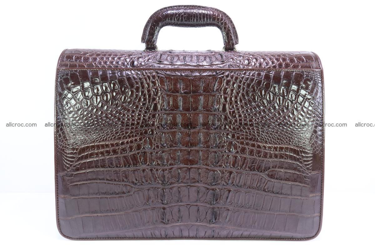 Crocodile skin briefcase 293 Foto 5