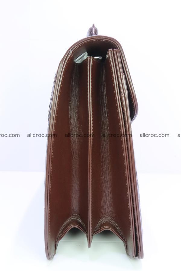 Crocodile skin briefcase 293 Foto 13