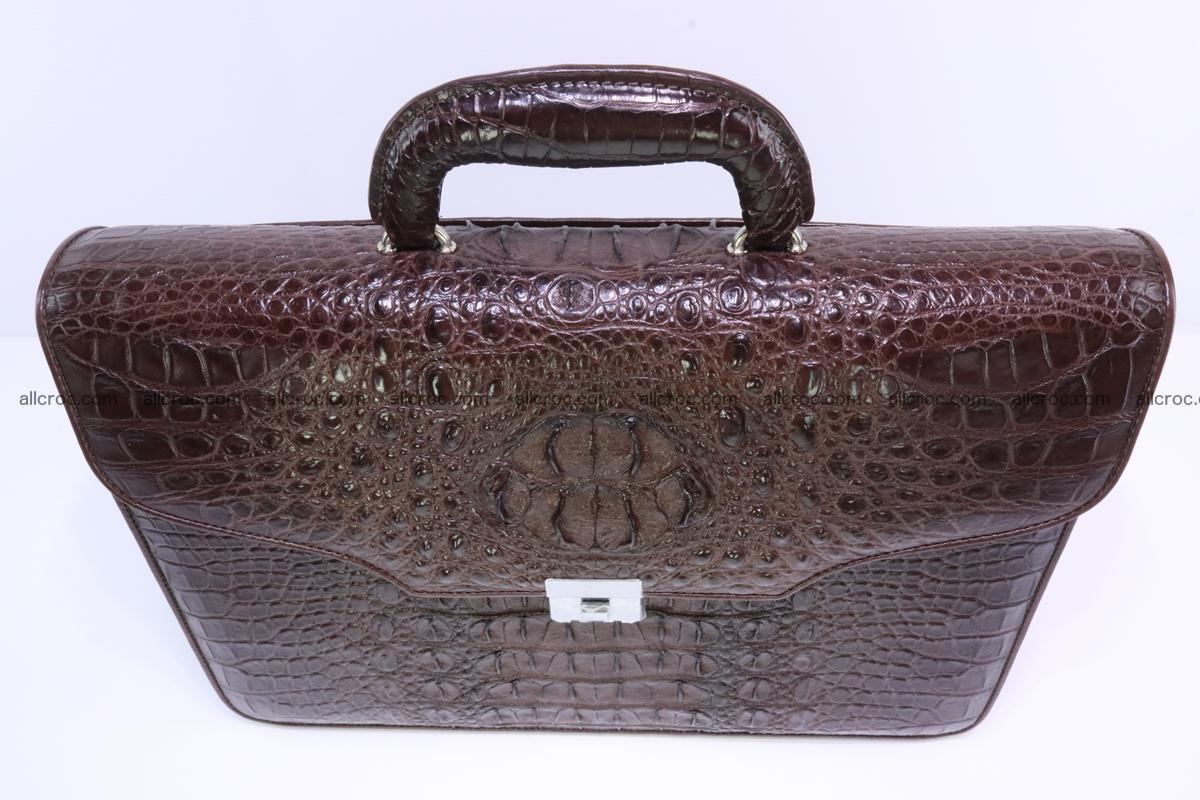 Crocodile skin briefcase 293 Foto 3