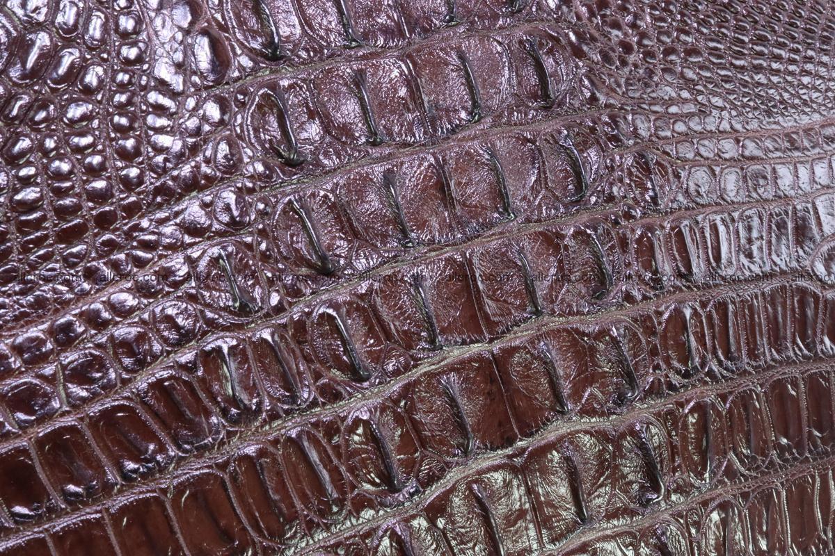 Crocodile skin briefcase 293 Foto 6