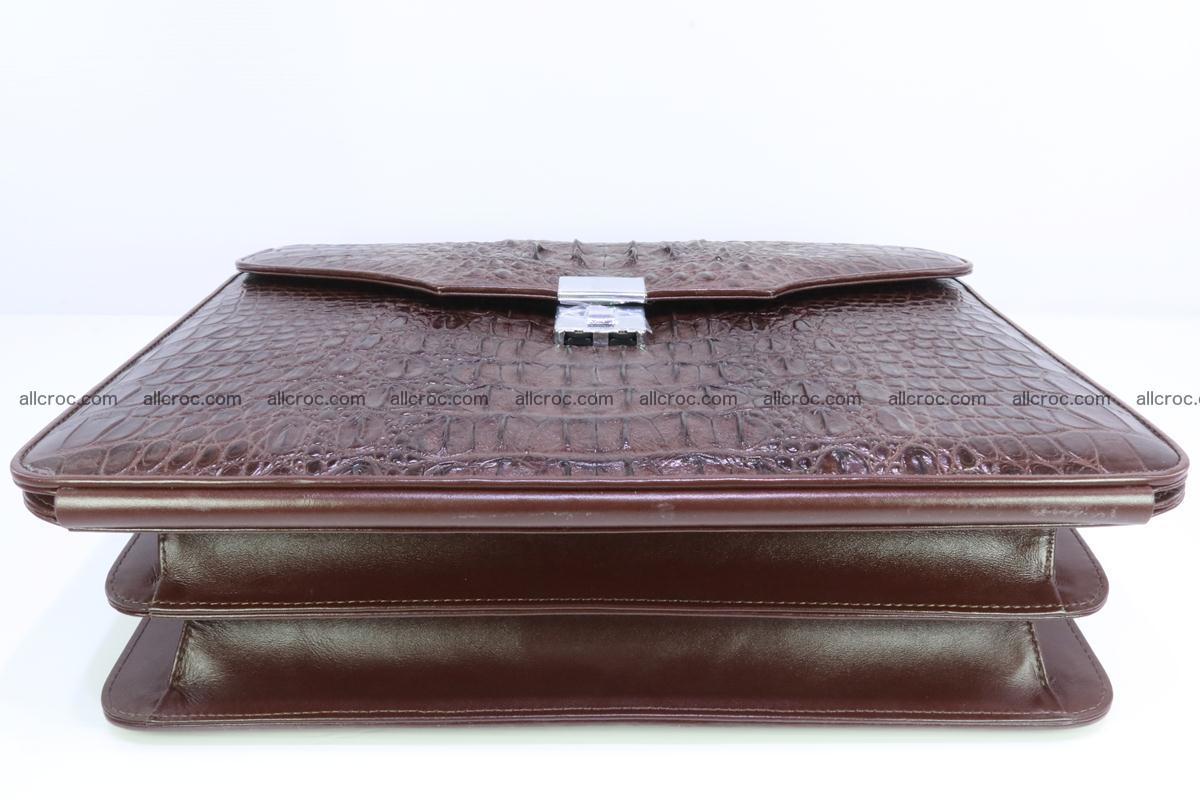 Crocodile skin briefcase 293 Foto 8