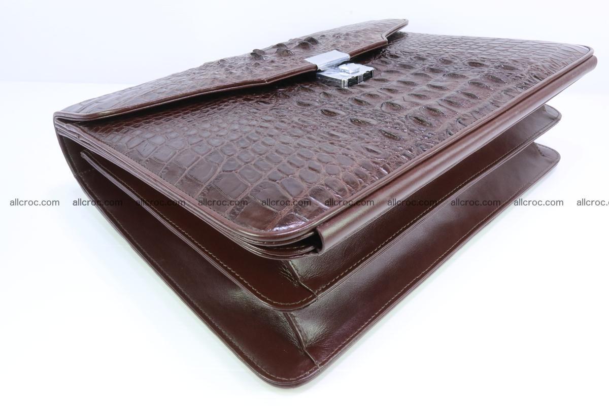 Crocodile skin briefcase 293 Foto 9