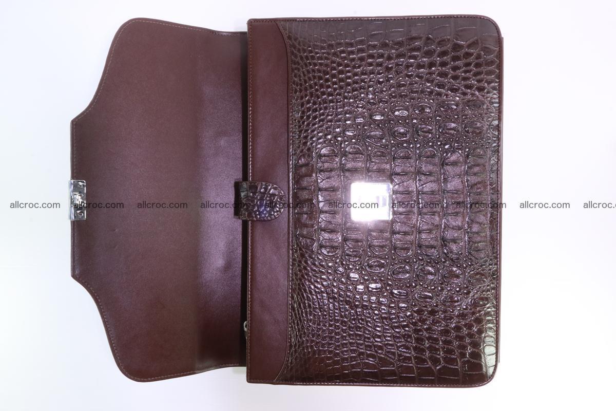 Crocodile skin briefcase 293 Foto 11