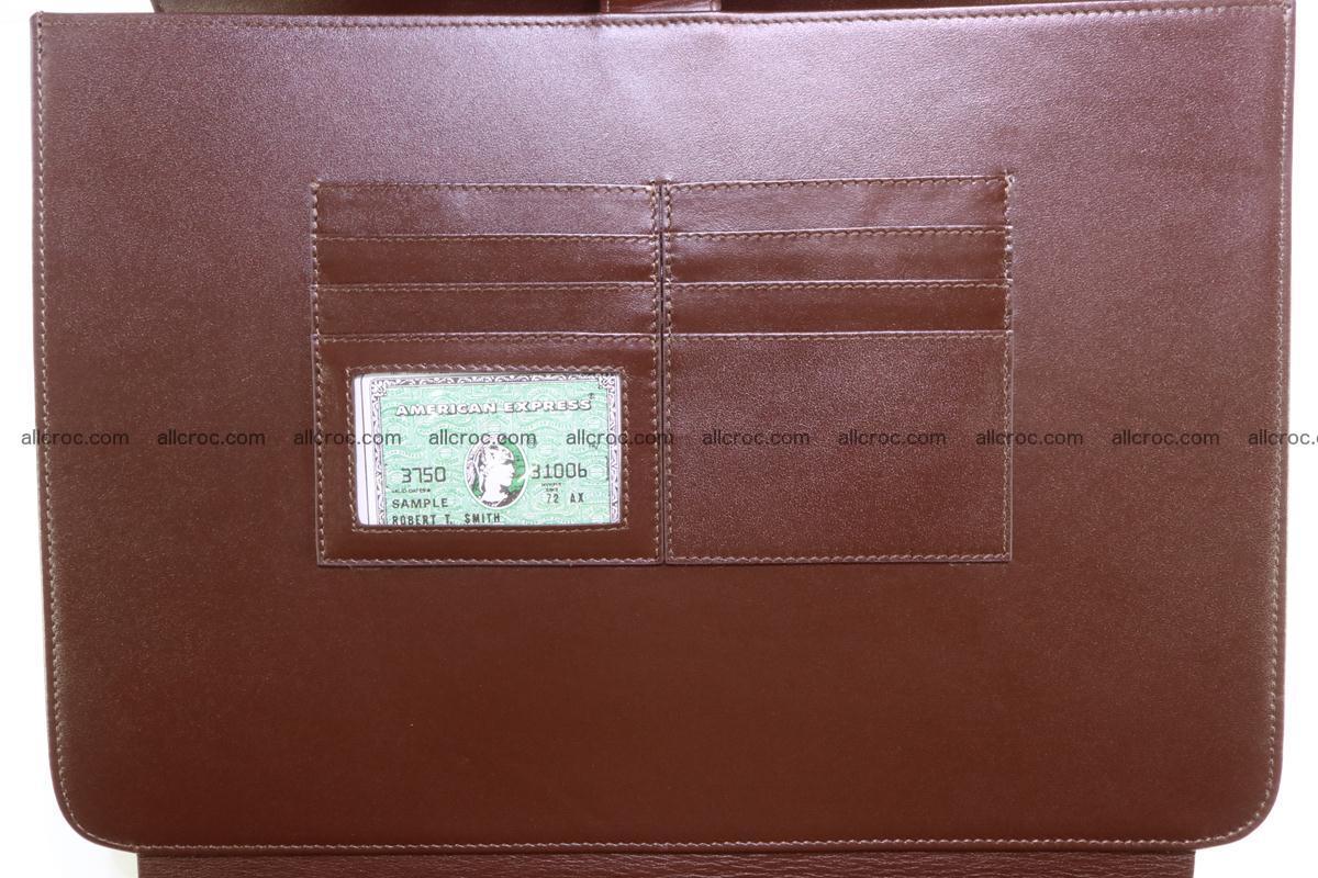 Crocodile skin briefcase 293 Foto 15