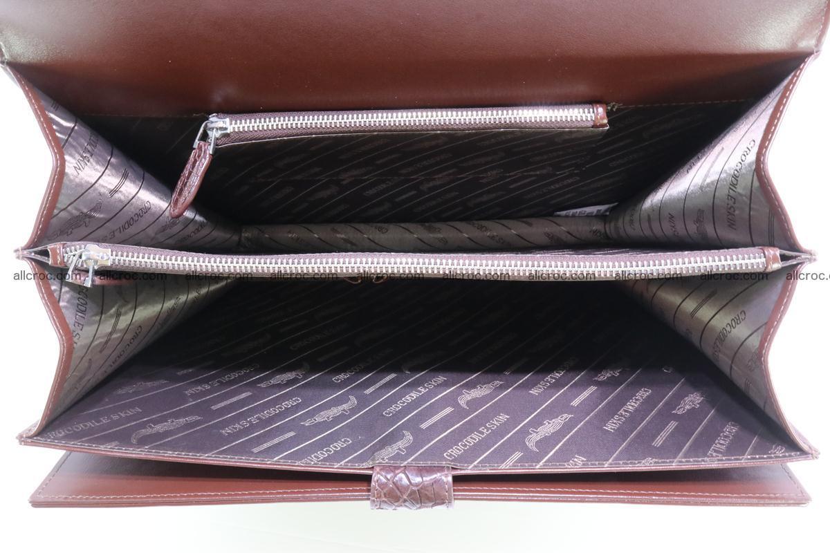 Crocodile skin briefcase 293 Foto 14