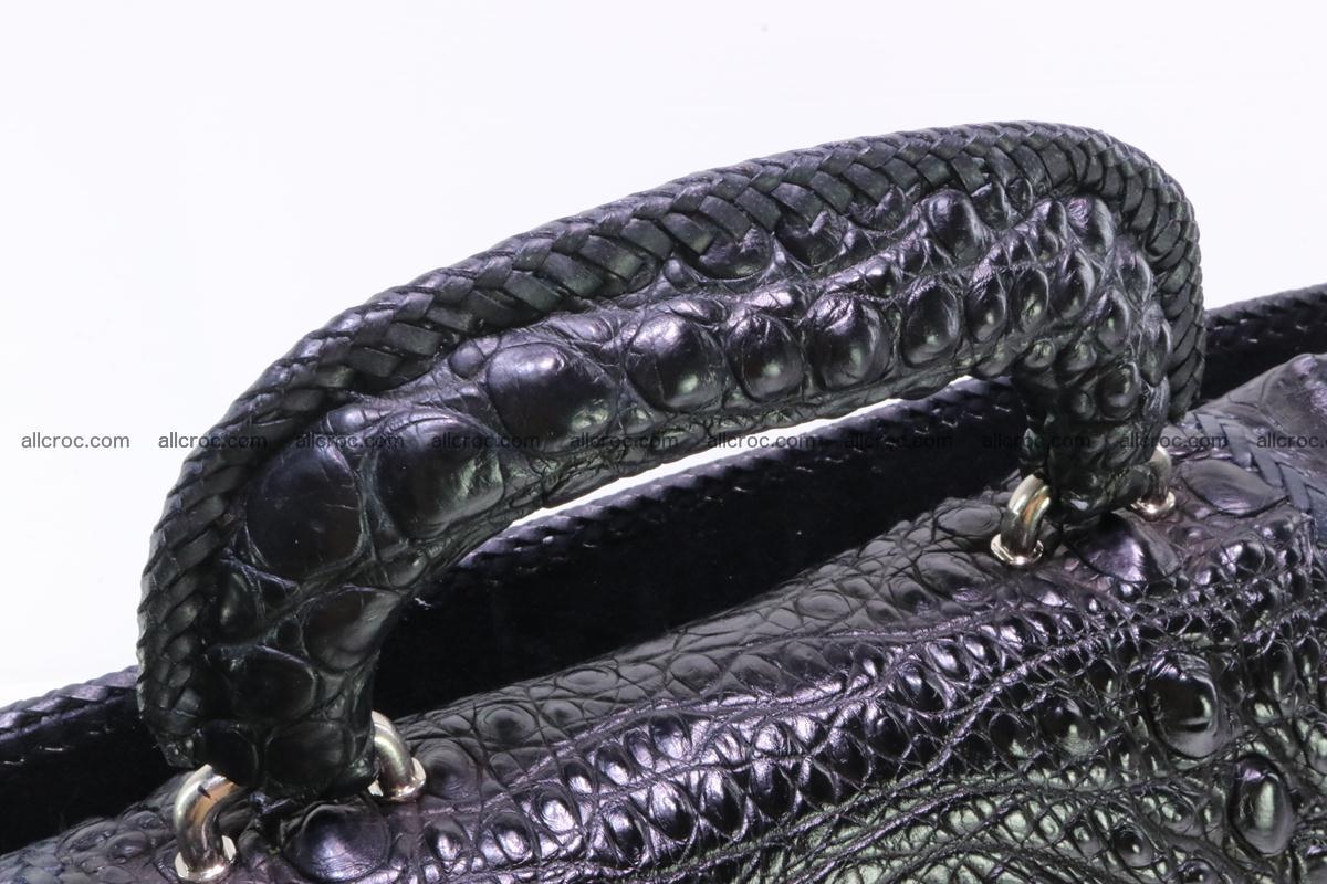 Hand braided crocodile skin briefcase 286 Foto 5