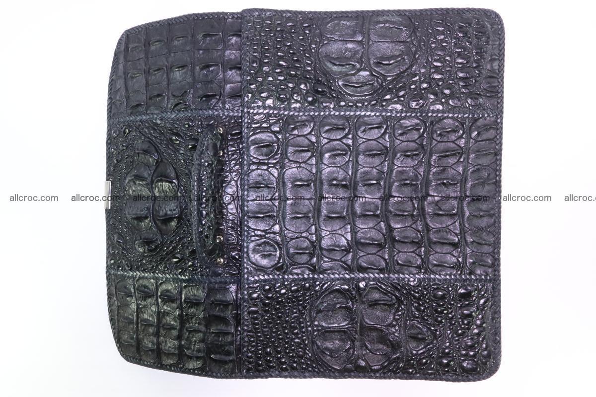 Hand braided crocodile skin briefcase 286 Foto 12