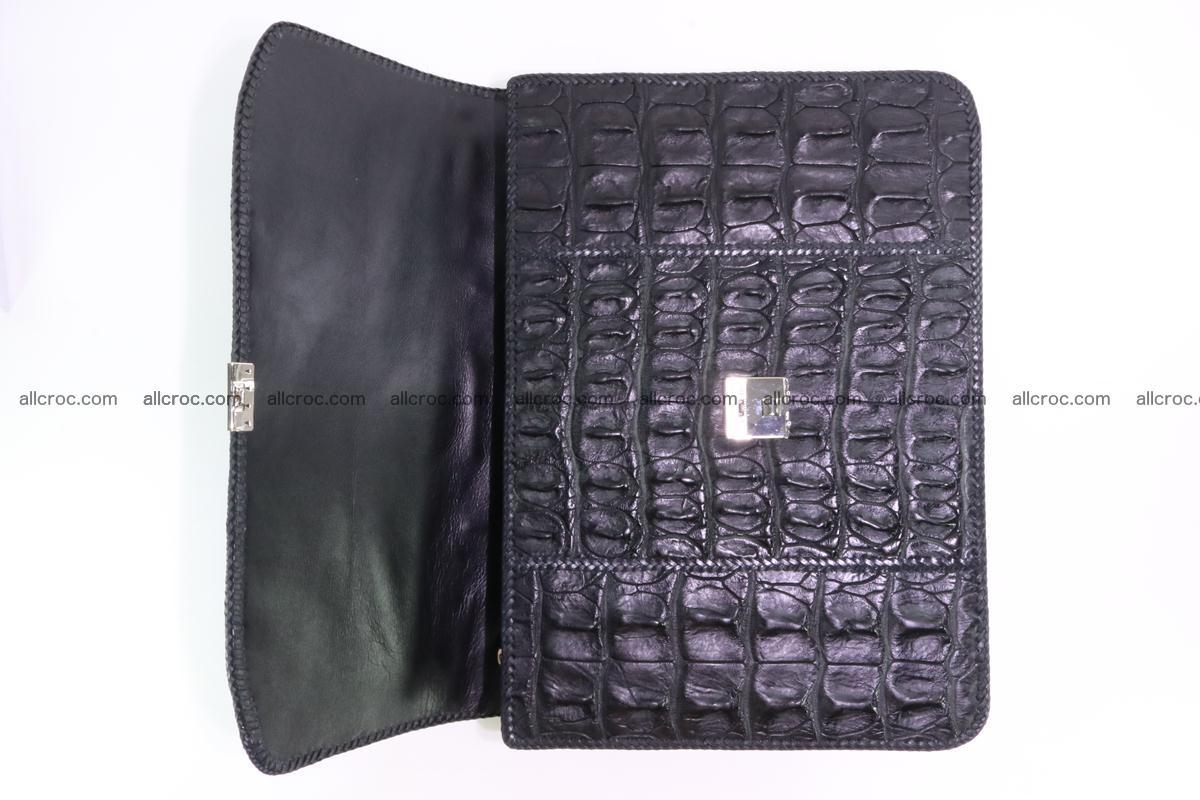 Hand braided crocodile skin briefcase 286 Foto 11