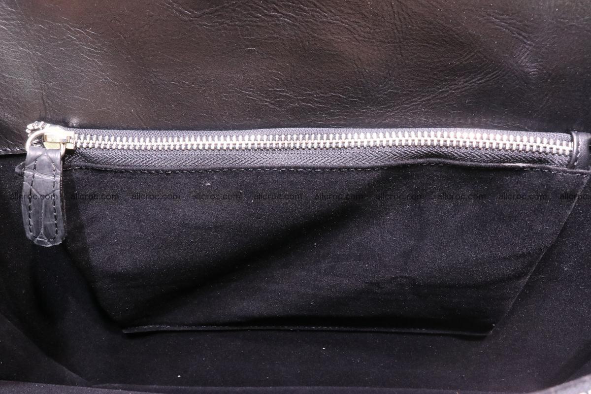Hand braided crocodile skin briefcase 286 Foto 15