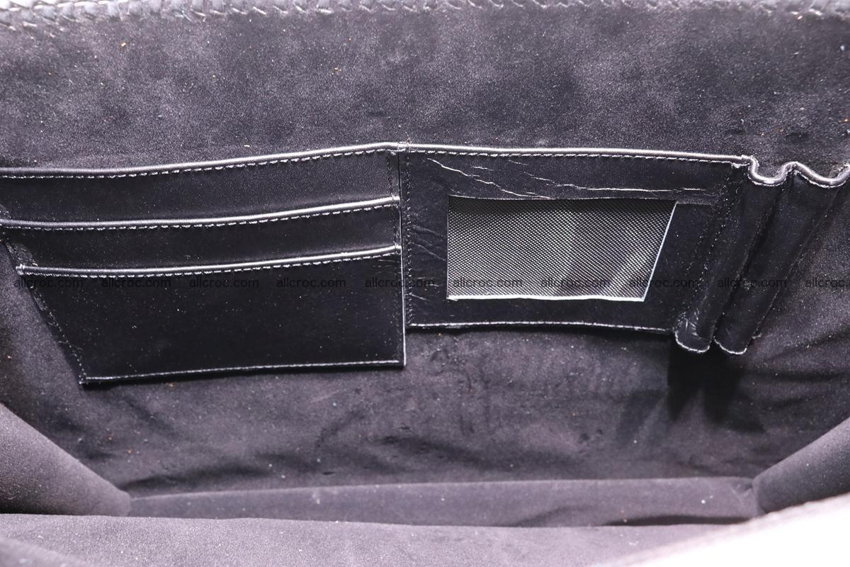 Hand braided crocodile skin briefcase 286 Foto 16