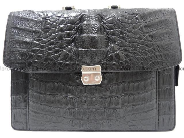 Crocodile skin briefcase 288 Foto 2