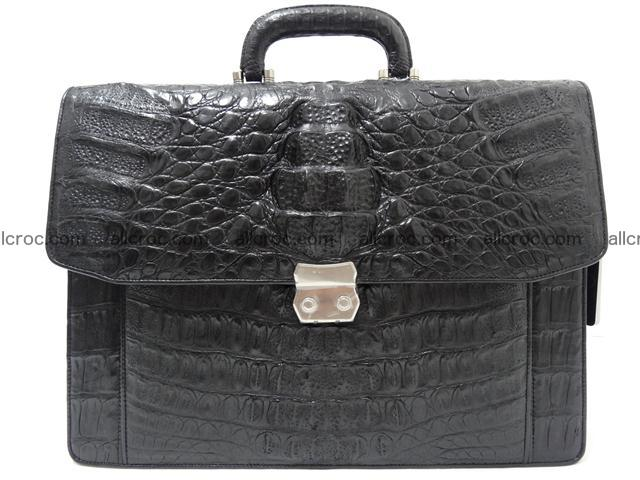 Crocodile skin briefcase 288 Foto 0