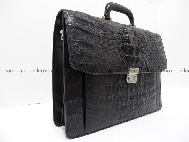 Crocodile skin briefcase 288 Foto 1