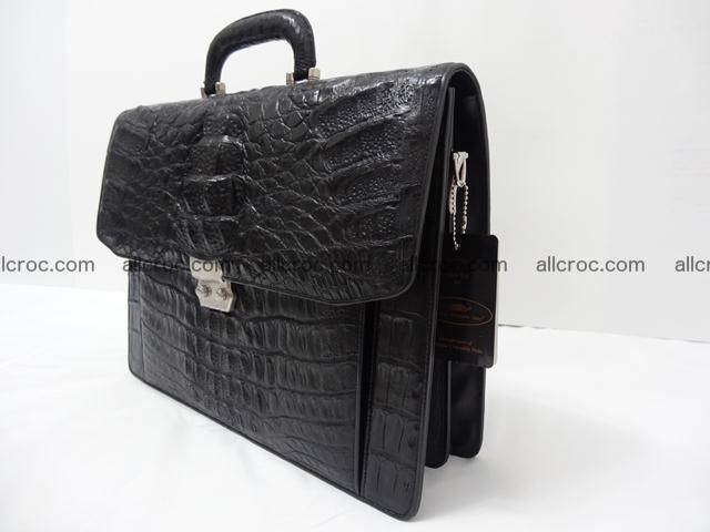 Crocodile skin briefcase 288 Foto 3