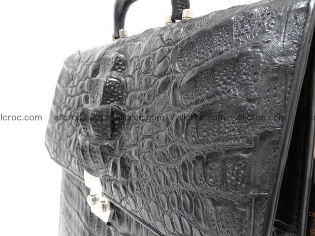 Crocodile skin briefcase 288 Foto 7