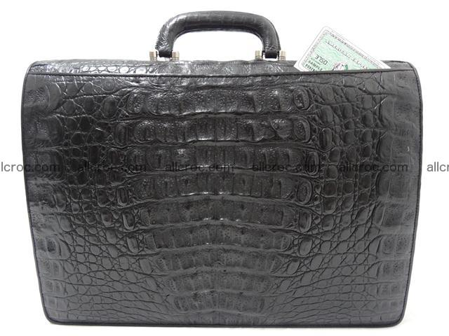 Crocodile skin briefcase 288 Foto 9