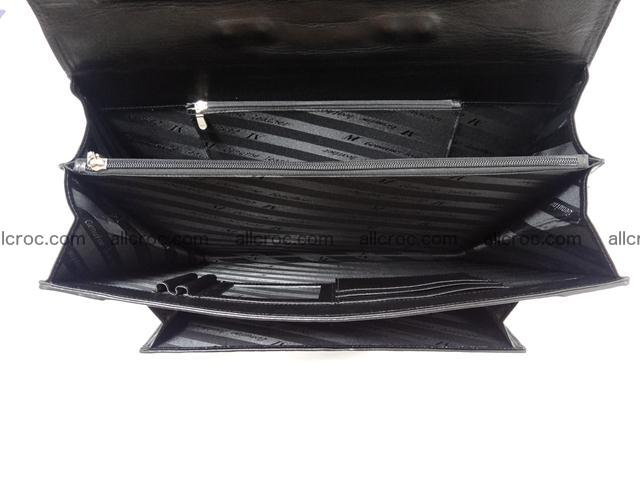 Crocodile skin briefcase 288 Foto 11
