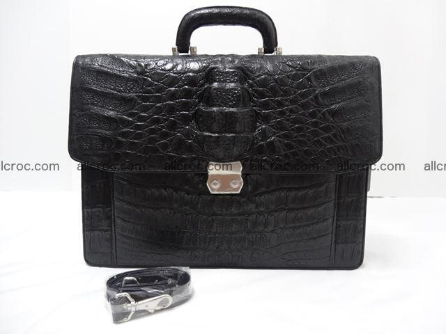 Crocodile skin briefcase 288 Foto 12