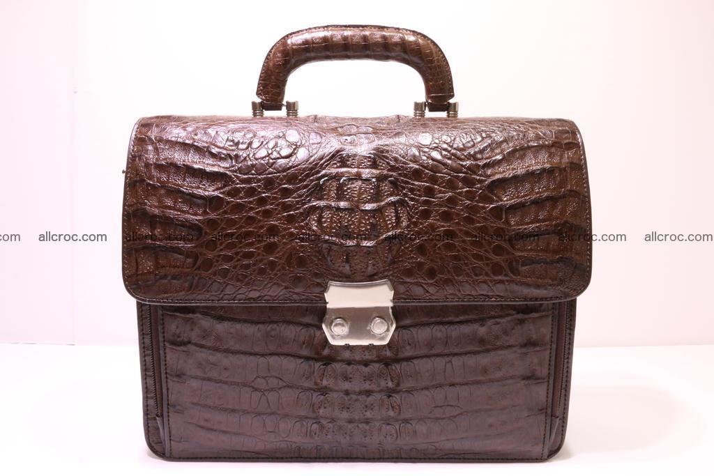 Crocodile skin briefcase 291 Foto 0
