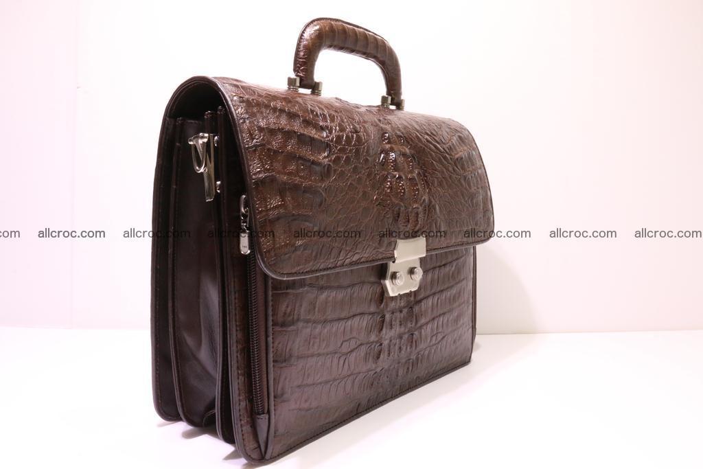 Crocodile skin briefcase 291 Foto 1