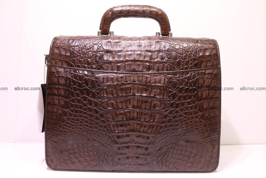 Crocodile skin briefcase 291 Foto 4