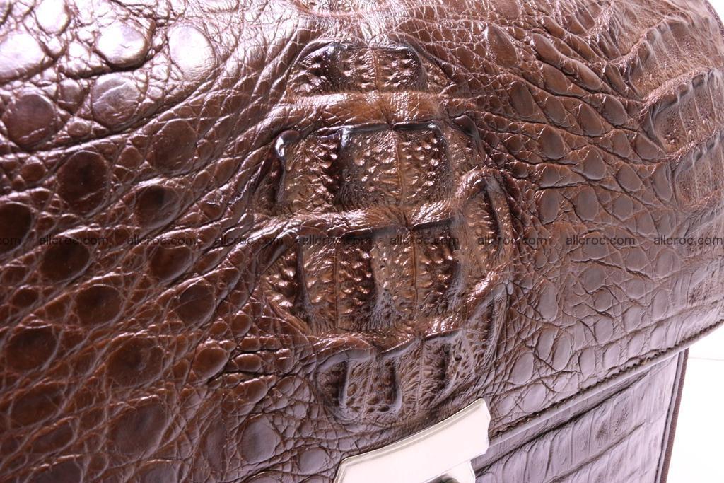 Crocodile skin briefcase 291 Foto 2