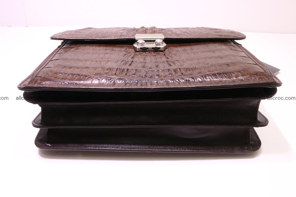 Crocodile skin briefcase 291 Foto 5