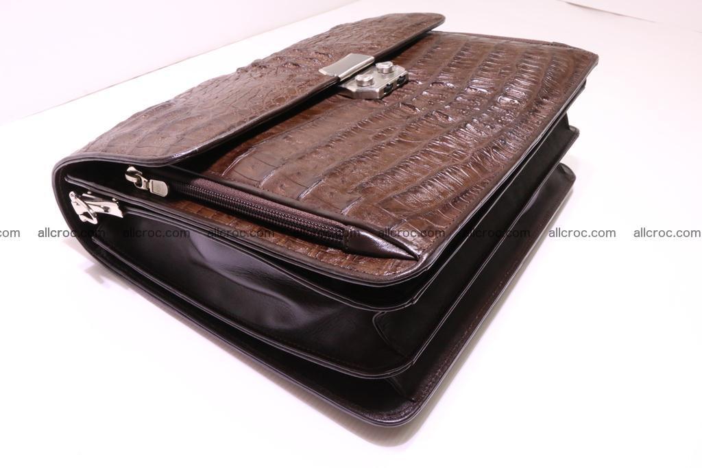 Crocodile skin briefcase 291 Foto 6