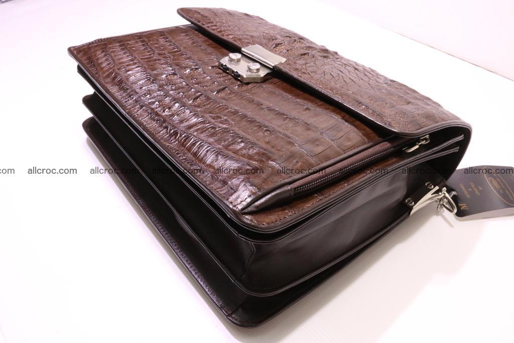 Crocodile skin briefcase 291 Foto 7
