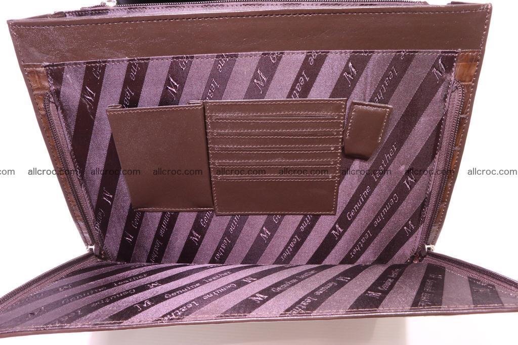 Crocodile skin briefcase 291 Foto 10